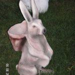 Sepetli Tavşan Figürü