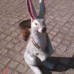 Sepetli Tavşan Maketi