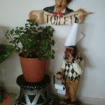Tuvalet Kağıtlık Maymun Figürü