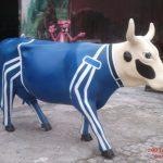 Yarışçı İnek Figürü