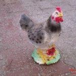 Yavrulu Tavuk Figürü
