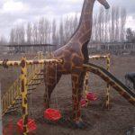 Zürafa Figürlü Oyun Grubu Maketi