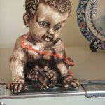 Zenci Bebek Figürü