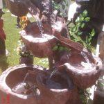 Çanaklı Kütük Şelale Süs Havuzu