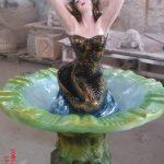 İşlemeli Süs Havuzu