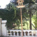 Ayaklı Kuş Evi Ahşap