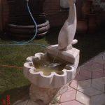 Balıklı Mermer Süs Havuzu