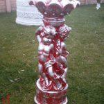 Melekli Vazo Çiçeklik